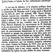 «De 1837 à 1937»