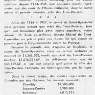 «L'honorable Maurice Duplessis fustige les dénigreurs professionnels»