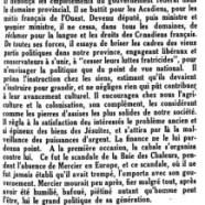 «Duplessis, continuateur de Mercier»