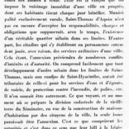 «Annexion d'une parcelle de territoire de Saint-Thomas»