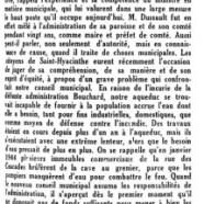 «L'honorable Bona Dussault»