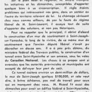 «M. Théo Ricard réélu avec une forte majorité»