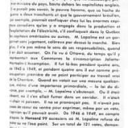 «M. Georges-Émile Lapalme et ses petits copains»