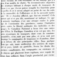 «Des chemins de fer à l'autonomie provinciale»
