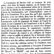 «Le successeur de M. Adrien Potvin»