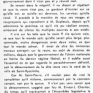 «M. René Saint-Pierre se moque de la route no 9»