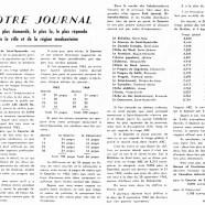 «Notre journal est le plus demandé, le plus lu, le plus répandu de la ville et de la région maskoutaine»