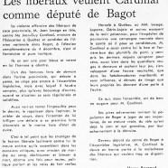 «Les libéraux veulent Jean-Guy Cardinal comme député de Bagot»