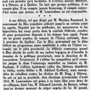 «M. André Laurendeau, un homme à surveiller»