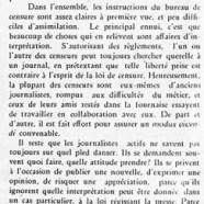 «Liberté de la presse, journaux et censure»