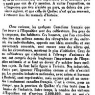 «Le Québec ignoré»