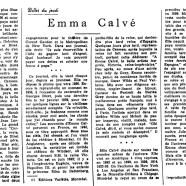 «Emma Calvé»
