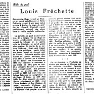 «Louis Fréchette»