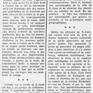 «Une étude sur la ville et le comté de Saint-Jean»