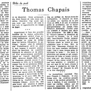 «Thomas Chapais»