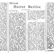 «Hector Berlioz»