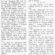 «Jacques Offenbach, il y a 99 ans»