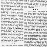 «Un grand modeste : Léon Gérin»