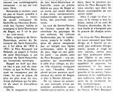 «Le Père Jean Bousque et son arsenal d'arguments, contre qui attaque l'Église»