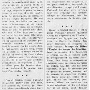 «Figures du demi-siècle : Roger Vailland et Michel Butor»