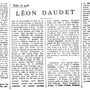 «Léon Daudet»