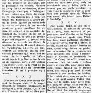 «Le suicide de Gérard de Nerval, expliqué par la toile»