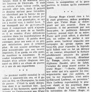 «Georges Hugo, petit-fils de Victor»