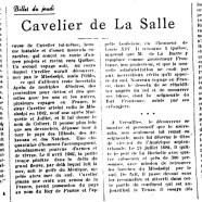 «Cavelier de La Salle»