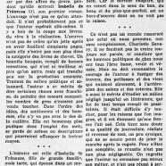 «Dans l'inquiétant sillage d'Isabelle de Frêneuse»