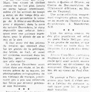 «Alonzo Cinq-Mars, qui fut journaliste, poète et sculpteur»