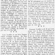 «François Veuillot, neveu de Louis, vient de mourir»