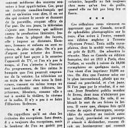 «Jean Bruchési et les tirages dont il ne se plaint pas»