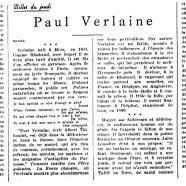 «Paul Verlaine»