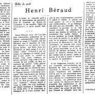 «Henri Béraud»