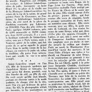 «Sainte Geneviève, patronne de Paris»