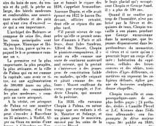 «Le séjour de Chopin et de George Sand à Palma de Majorque»