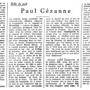 «Paul Cézanne»