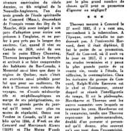 «Actualité de Thoreau, jusqu'en Amérique latine»