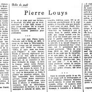 «Pierre Louys»