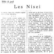 «Les Nisei»