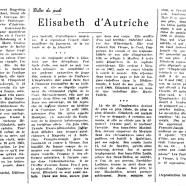 «Élizabeth d'Autriche»