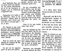 «Un recueil de poèmes et proses de Monseigneur Félix-Antoine Savard, qui ajoute peu de chose à sa gloire»