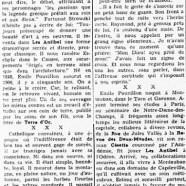 «Qui se souvient aujourd'hui d'Émile Pouvillon?»