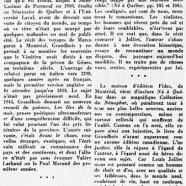 «Le Louis Jolliet d'Alain Grandbois»
