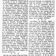 «Un poète français né à Cuba : José-Maria de Hérédia»