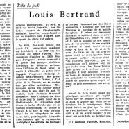 «Louis Bertrand»