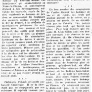 «Aux premiers temps de la Nouvelle-France»