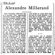 «Alexandre Millerand»
