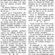 «André Thérive et son oeuvre, son mauvais mot»