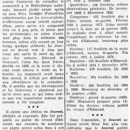 """«Ce qu'était le manuscrit du """"Journal"""" des Goncourt»"""